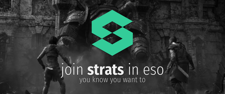 Elder Scrolls Online Your Friendly Eso Strats Guild Is Back Again