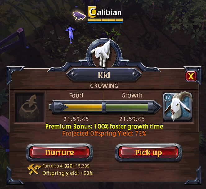 Albion Online: Basic Farming & Breeding Guide (Hector Patch